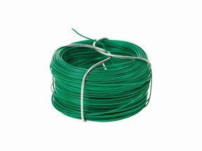Binddraad voor kunsthaag, geplastificeerd groen 1,2 mm - spoel 25 m