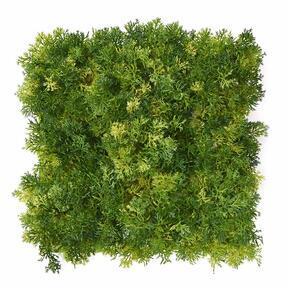Kunstlicht groen mos paneel - 25x25 cm