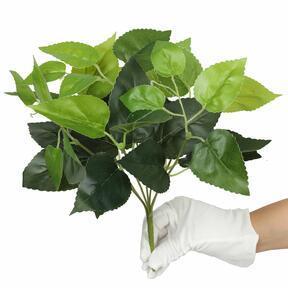 Kunstplant Basilicum groen 25 cm
