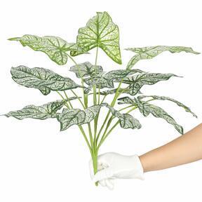 Kunstplant Calladium tweekleurig 50 cm