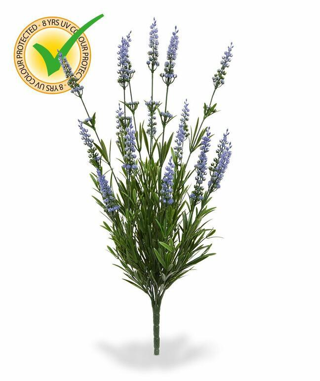 Kunstplant Lavendel blauw 50 cm