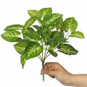 Kunstplant Taro Araceae 25 cm