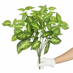 Kunstplant Taro Araceae 45 cm
