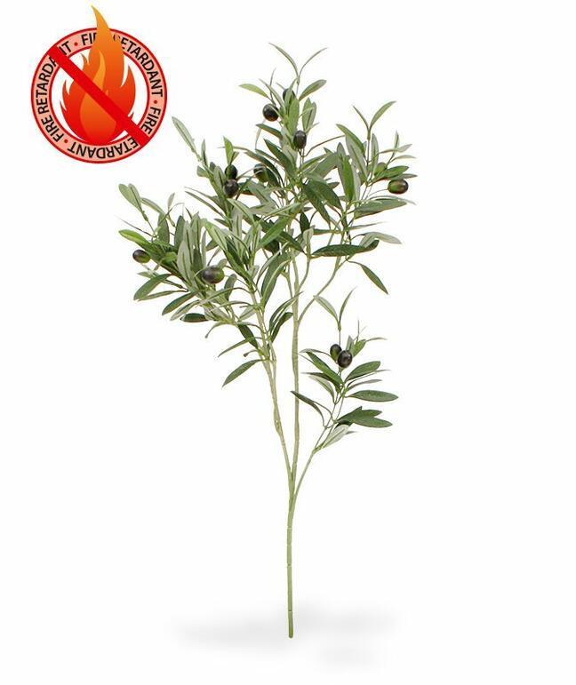 Kunsttak Olijfboom met olijven 90 cm