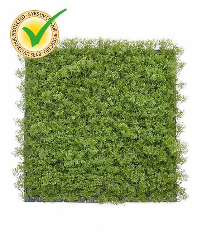 Mossmat kunstmos paneel - 50x50 cm