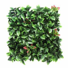 Photinia kunstpaneel - 50x50 cm